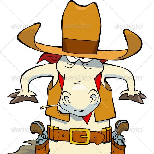 Western Cowboy Horse