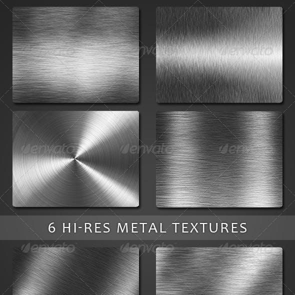 6 Hight Resolution Metal Textured