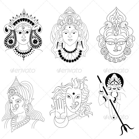 Maa Kali Graphics Designs Template From Graphicriver