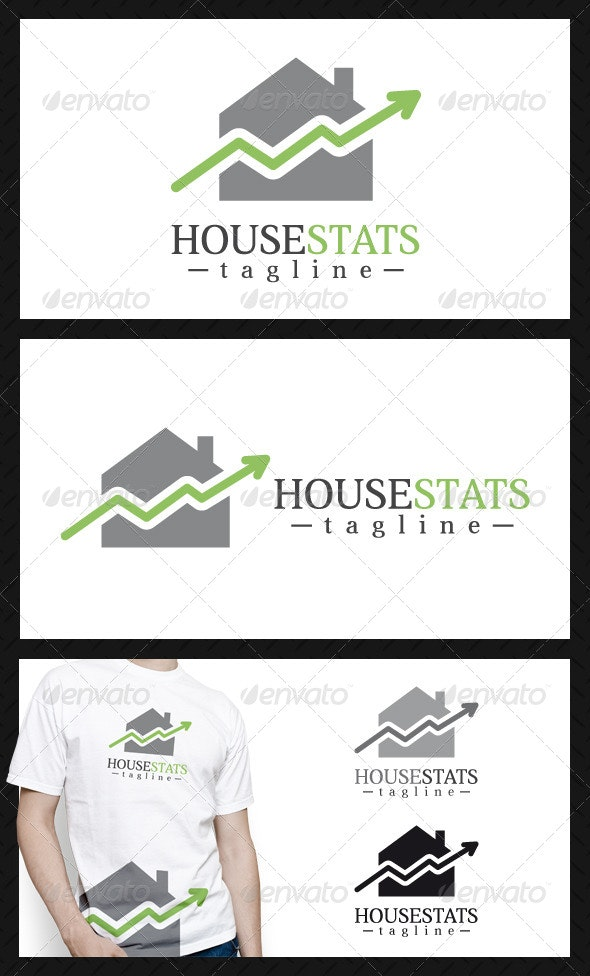 House Stats Logo Template