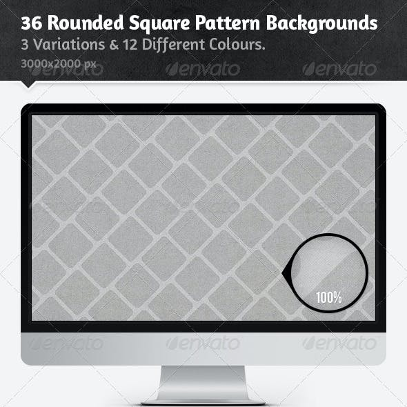 36 Rounded Square Pattern Backgrounds