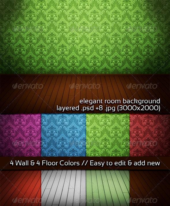 Elegant Room Background - 3D Backgrounds