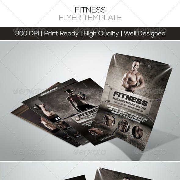 Premium Fitness Flyers