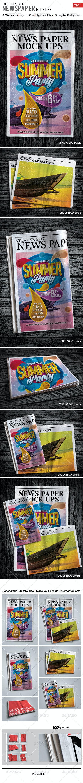 Newspaper Mockups - Miscellaneous Print
