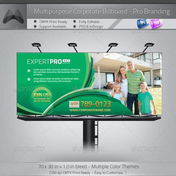 Multipurpose Corporate Billboard - Pro Branding