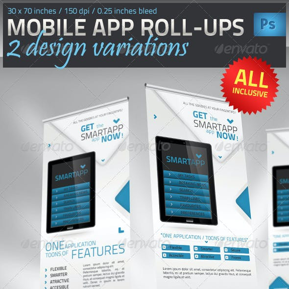 Mobile App Promotion Roll-Up Template