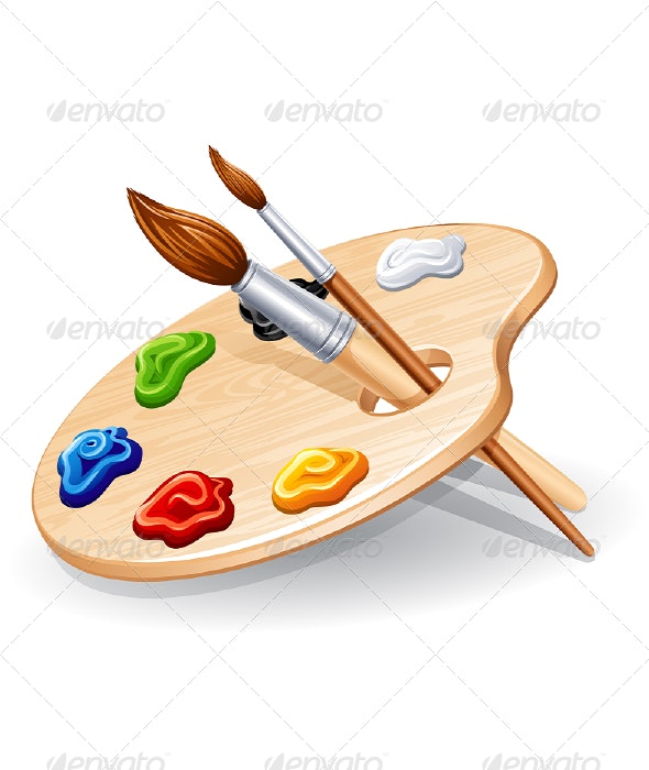 Palette - Man-made Objects Objects