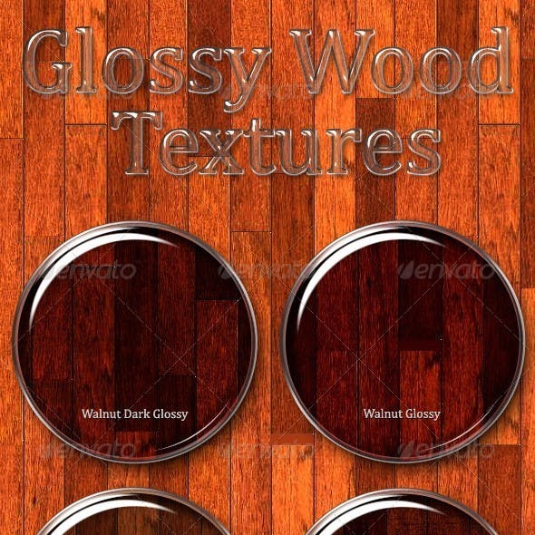 Glossy Wood Textures