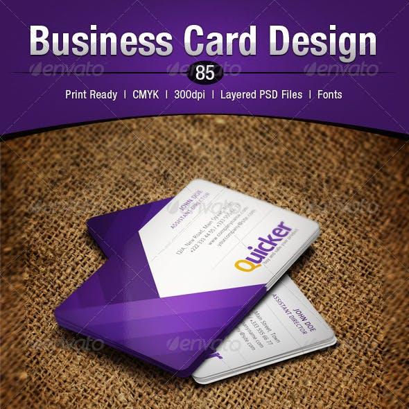 Business Card Design 85