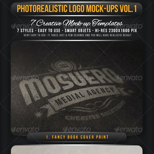 Photorealistic Logo Mock-Up Vol.1