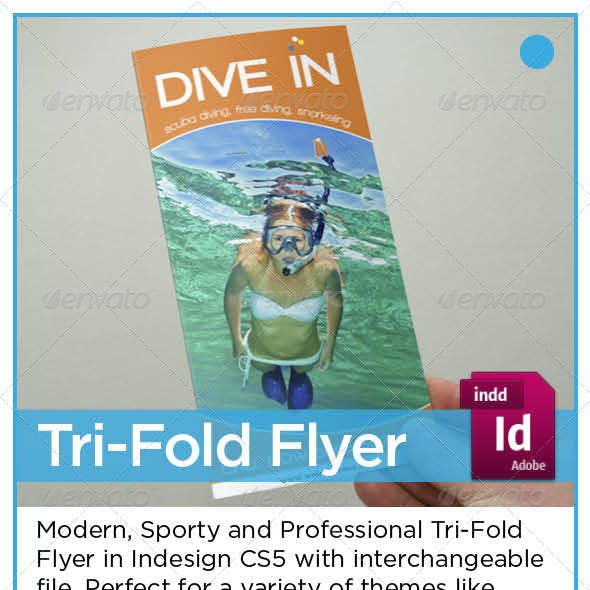 Diving Tri-Fold Brochure