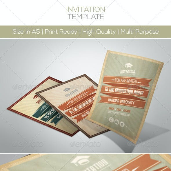 Retro Invitation