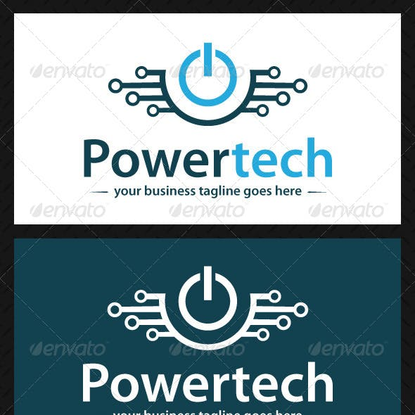 Power Tech Logo Template