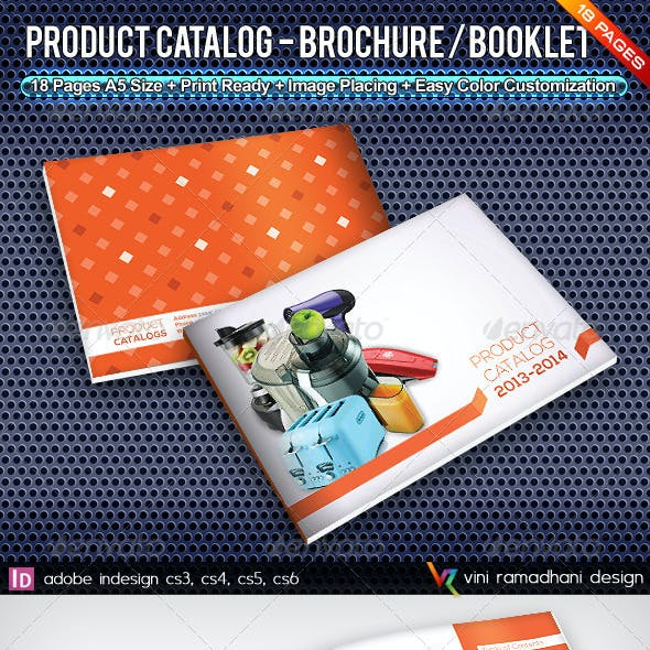 Product Catalogs Brochure Or Booklet