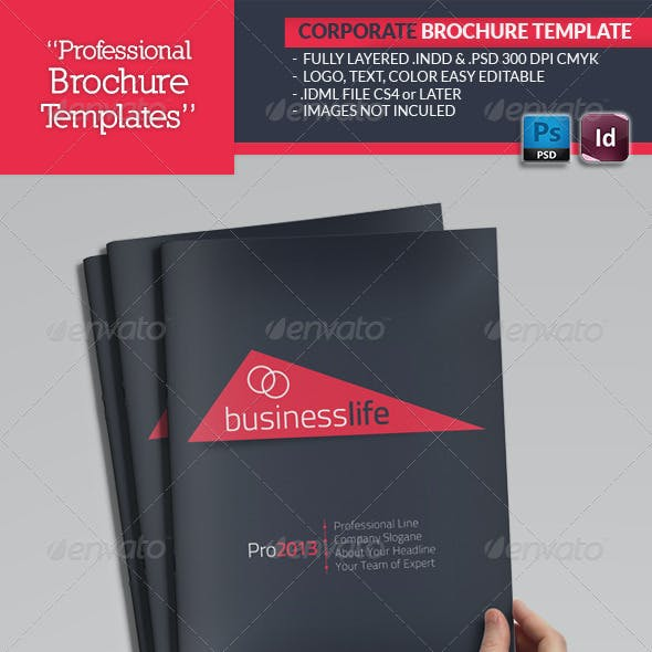 Corporate Catalogue Template