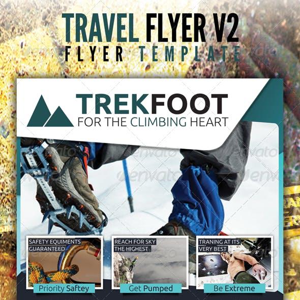 Hiking Travel Flyer v2