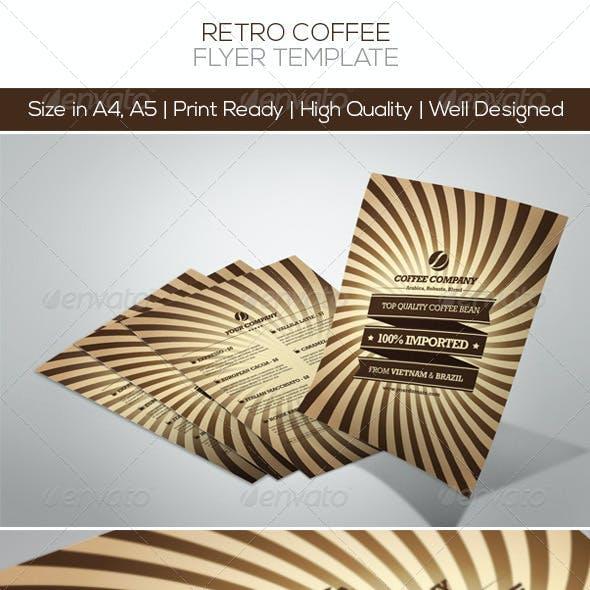 Retro Coffee Flyers