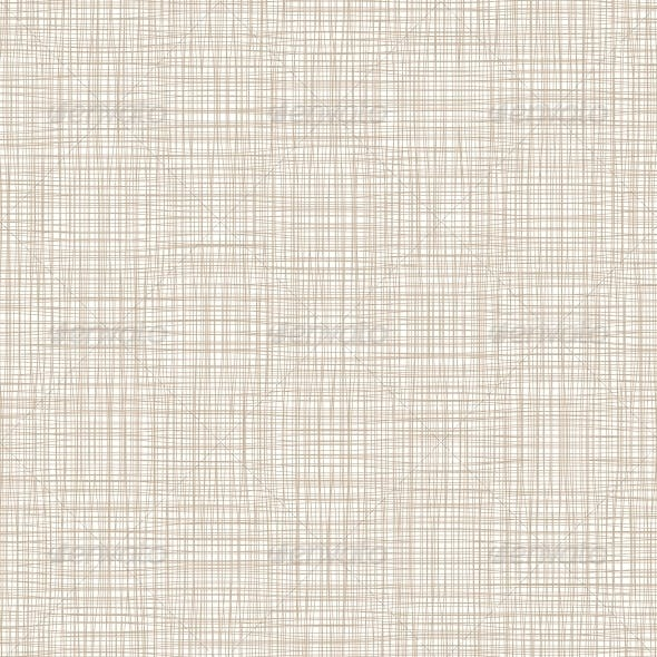 Background with Threads, Natural Linen