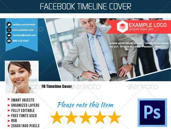 Corporate FB Timeline Cover 02 - Facebook Timeline Covers Social Media