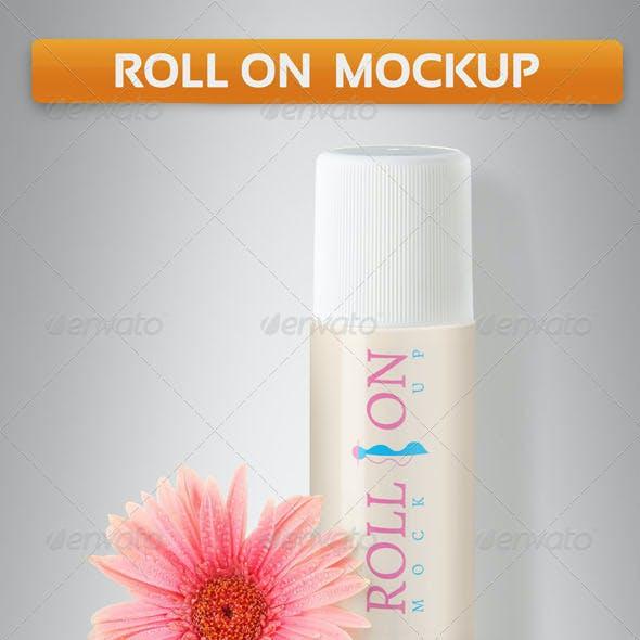 Roll on Mockup