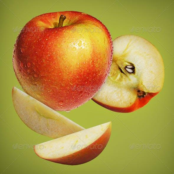Fresh Apple Mockup