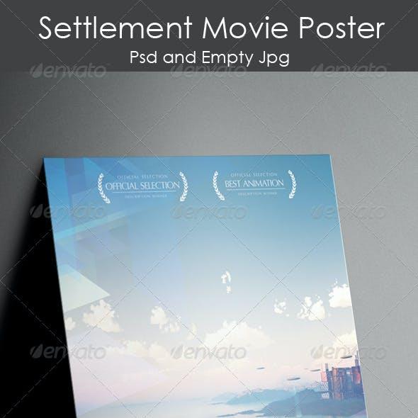 Settlement Movie Poster