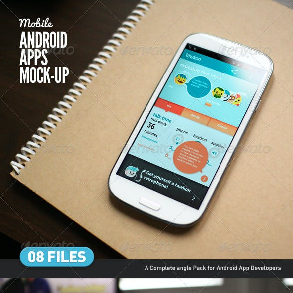 Mobile App | Android App Mock-Up