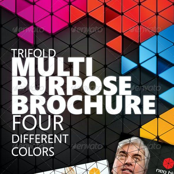 Multipurpose A4 Trifold