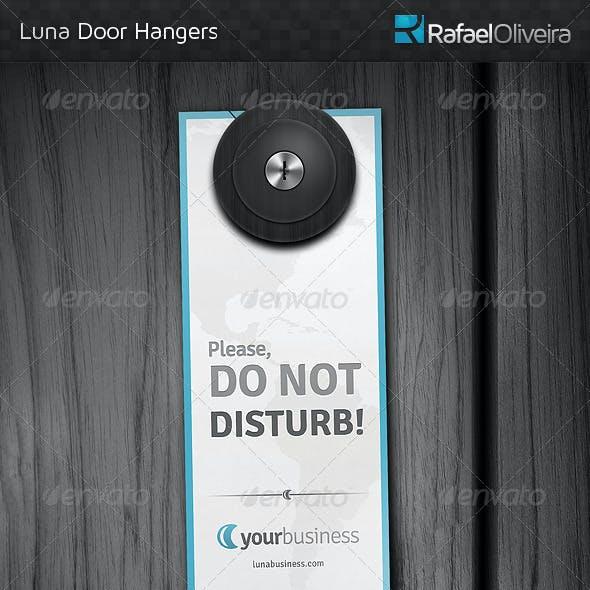 Luna Door Hangers