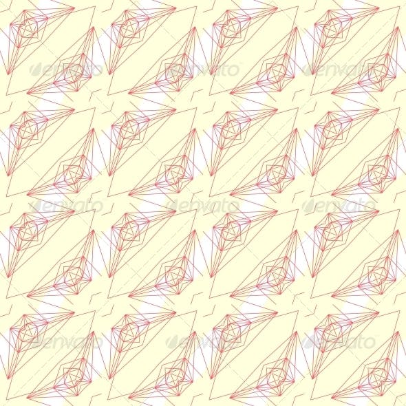 Pattern with Graphic Geometrical Forms