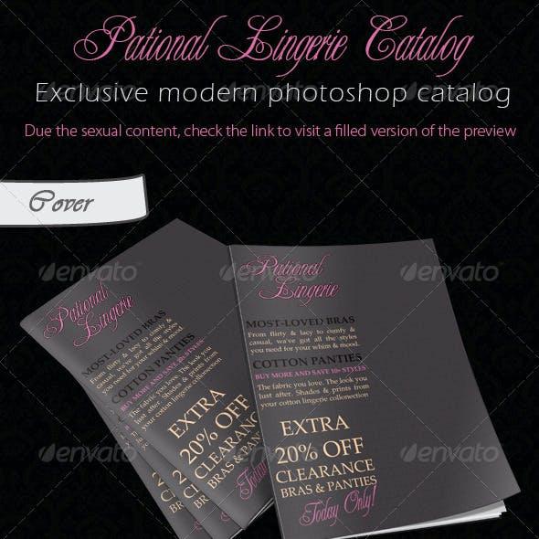 Pational lingerie catalogue