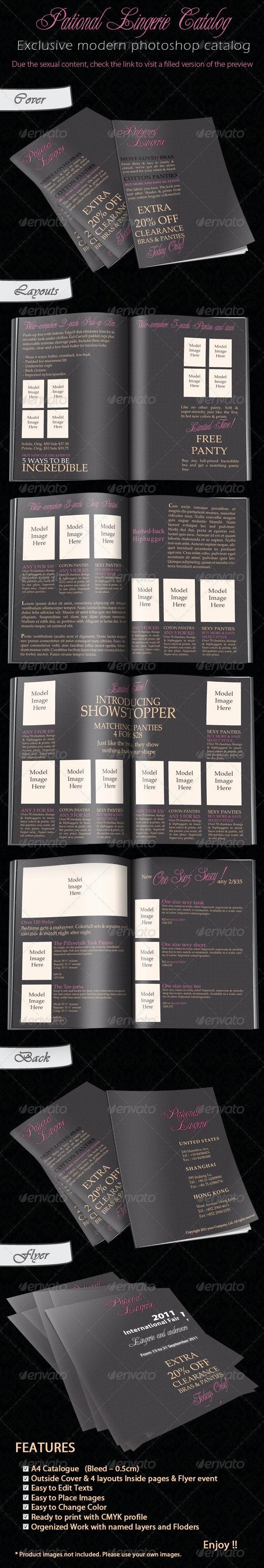 Pational lingerie catalogue  - Catalogs Brochures