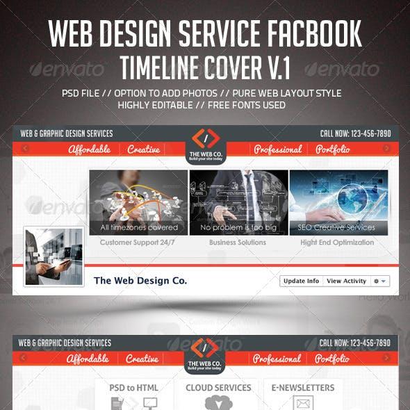 Web Design Service Facebook Timeline Cover