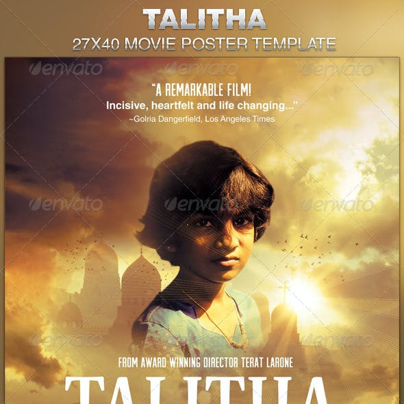 Talitha Movie Poster Template