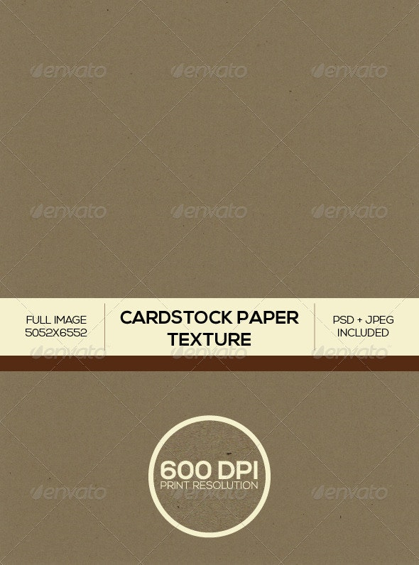 Brown Cardstock Paper Background Texture