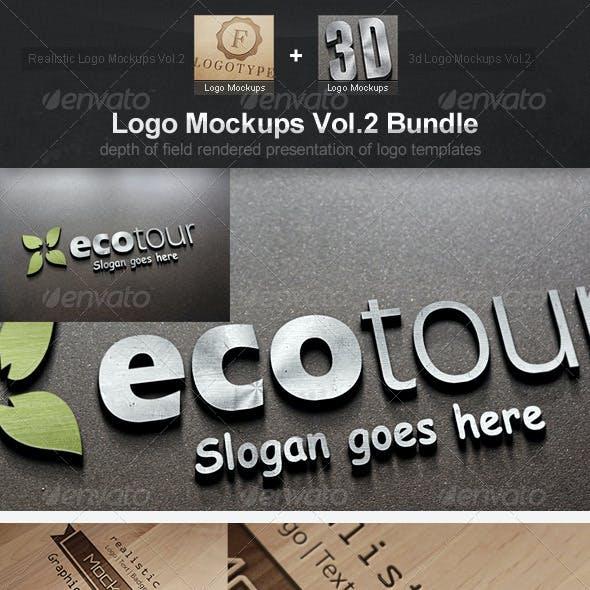 Logo Mockups Vol.2 Bundle