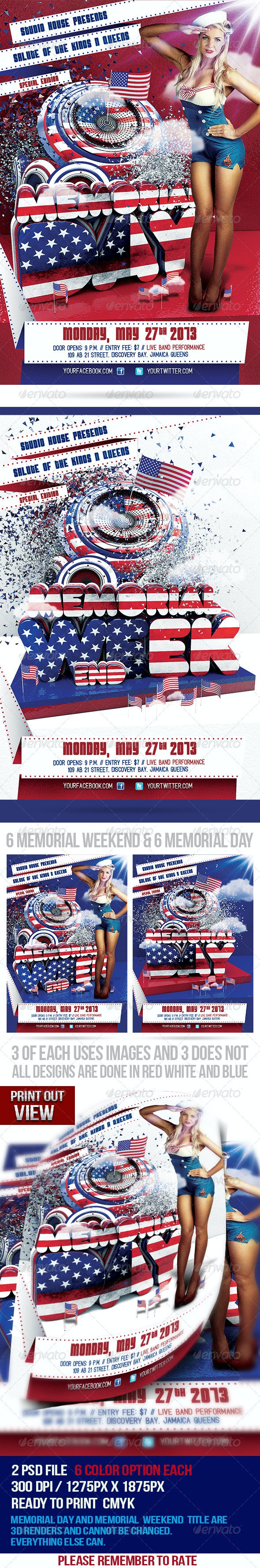 Memorial Day Salute - Holidays Events