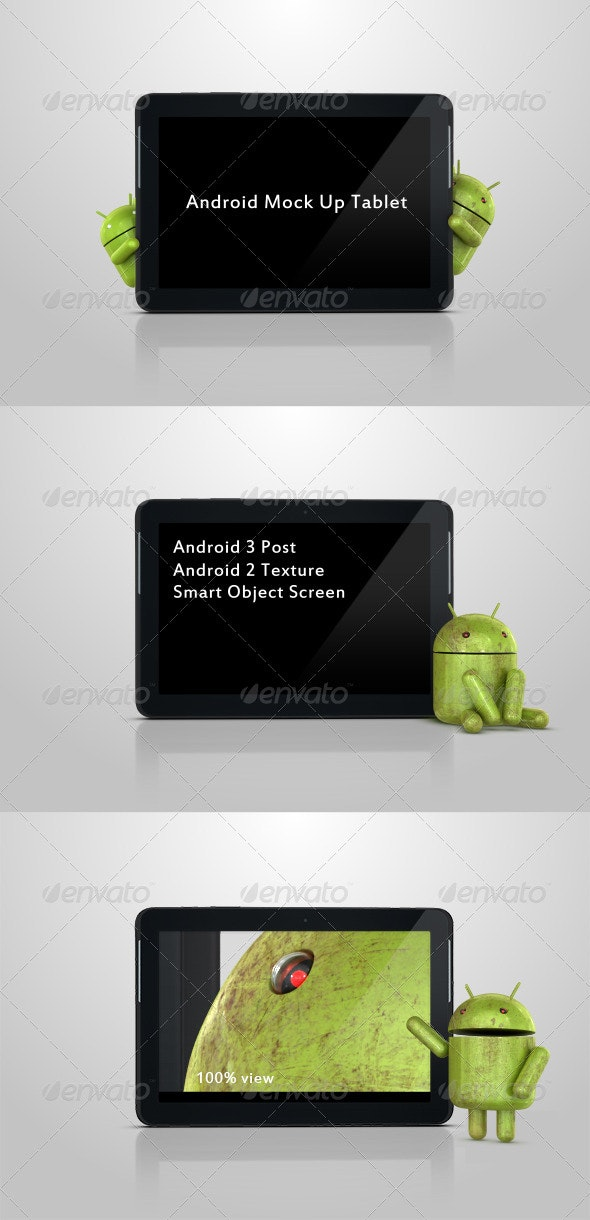 Android Mock Up Tablet - Mobile Displays