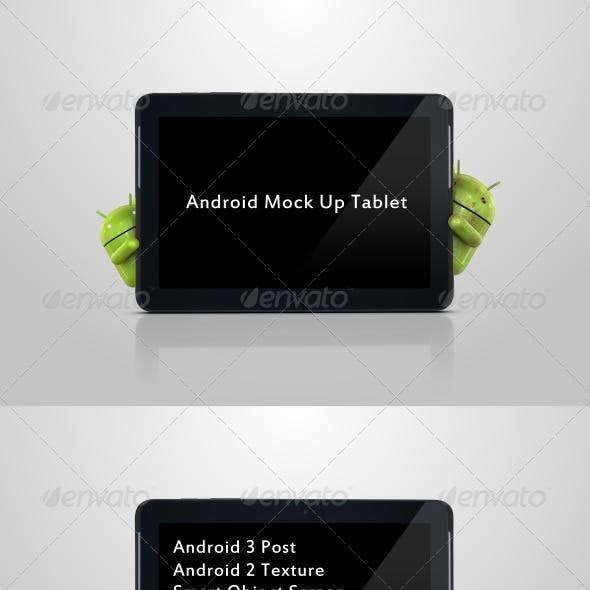 Android Mock Up Tablet