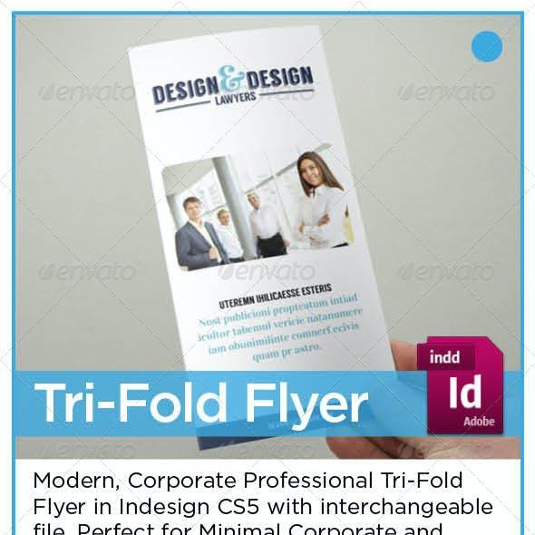 Corporate Tri-Fold Flyer