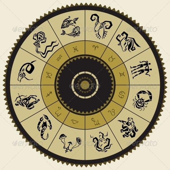 Horoscope Circle Star Signs