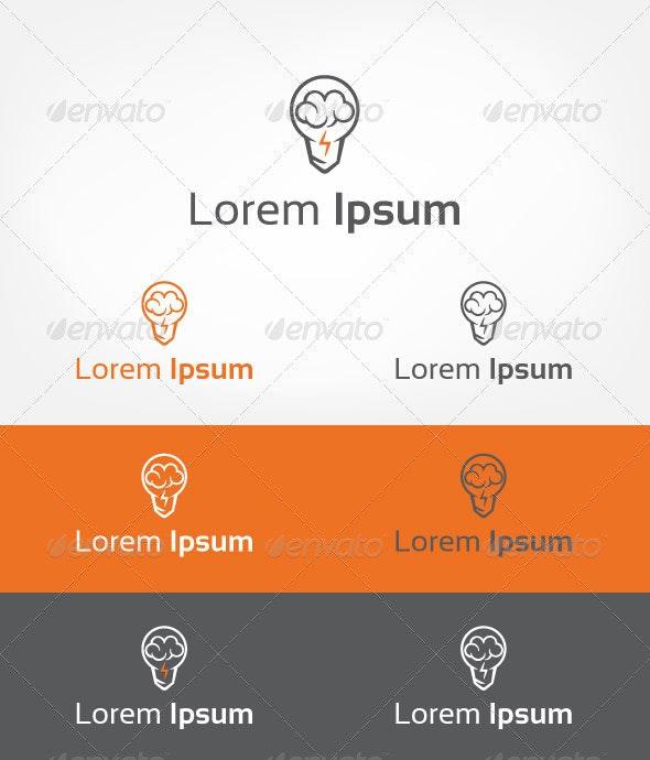 Brain Storm - Symbols Logo Templates