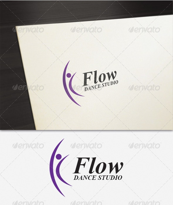 Flow Logo - Humans Logo Templates
