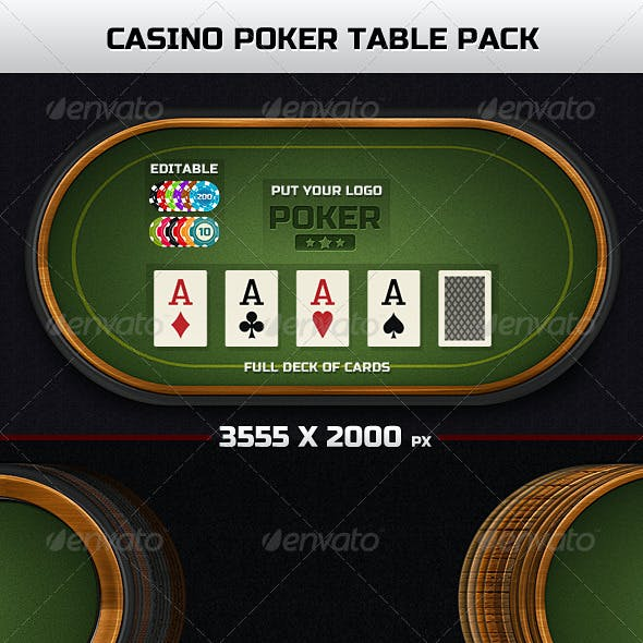 Casino Poker Table Pack