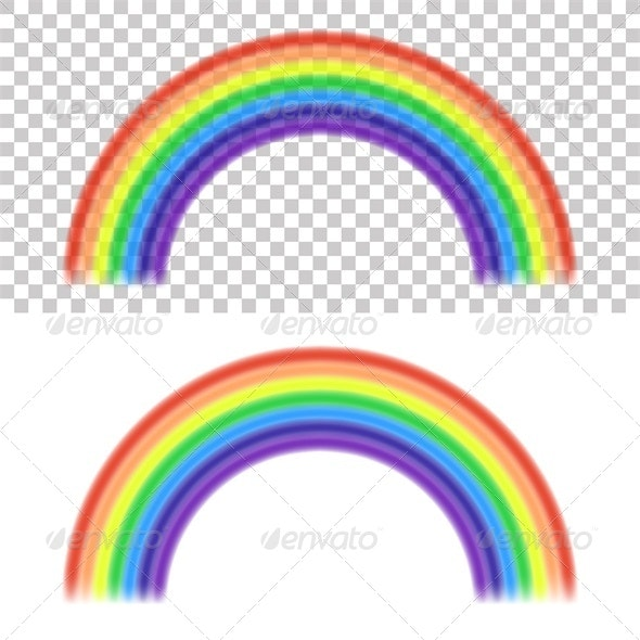 Vector Rainbow - Decorative Vectors