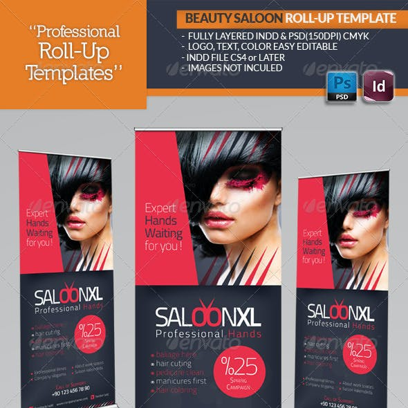 Salon Billboard Graphics Designs Templates From Graphicriver