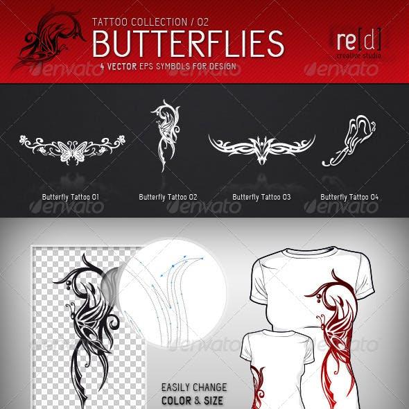 Butterfly Tattoo Symbols