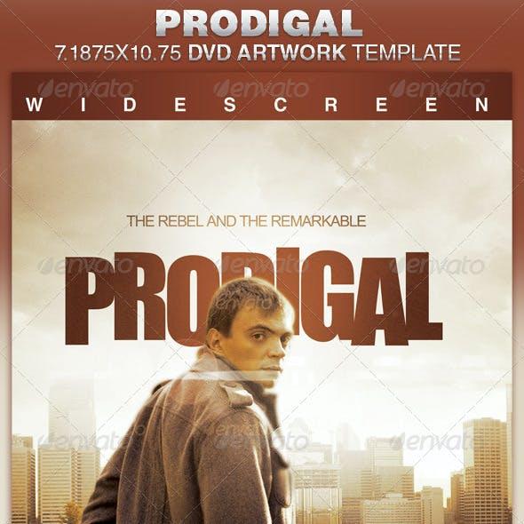 Prodigal DVD Artwork Template