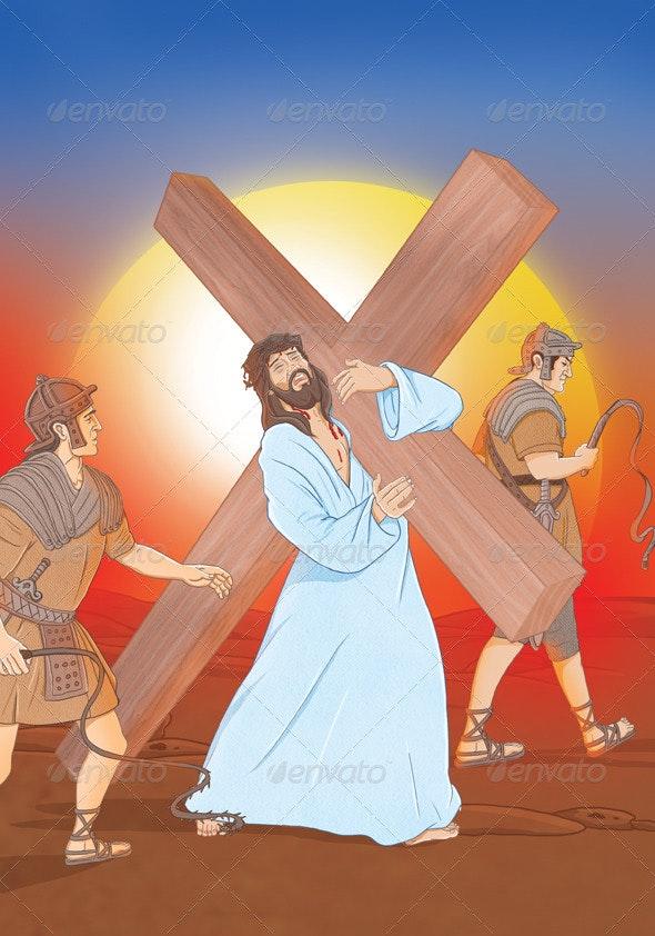 Jesus Way - Scenes Illustrations