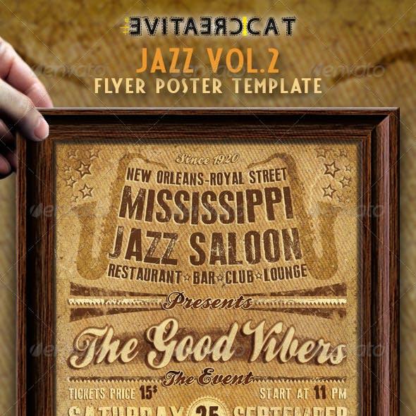 Jazz Flyer/Poster VOL.2